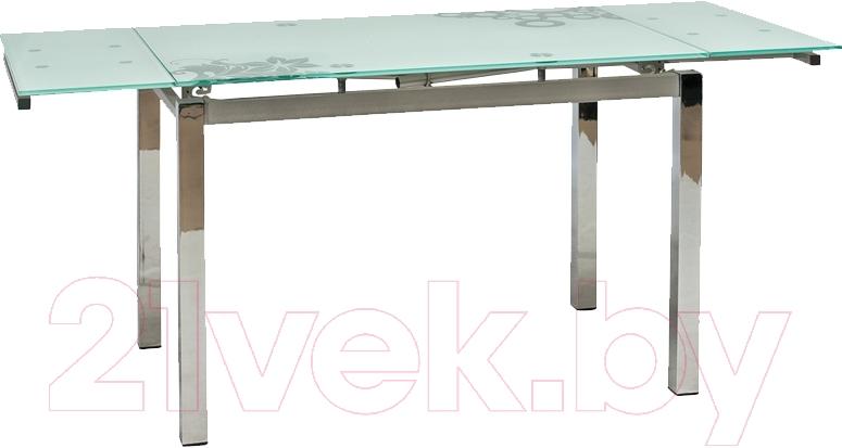 Купить Обеденный стол Signal, GD017 (белый), Малайзия