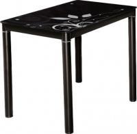 Обеденный стол Signal Damar 100x60 (черный) -