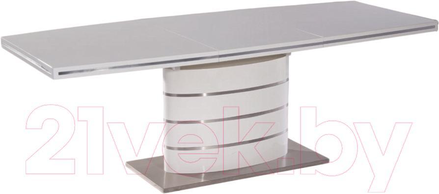 Купить Обеденный стол Signal, Fano 160x90 (белый), Китай
