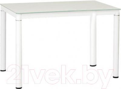 Обеденный стол Signal Galant 110x70 (белый)