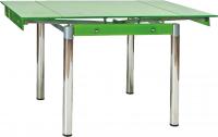 Обеденный стол Signal GD082 (зеленый) -