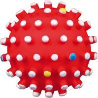 Игрушка для собак Trixie 3429 (с цветными шипами, со звуком) -