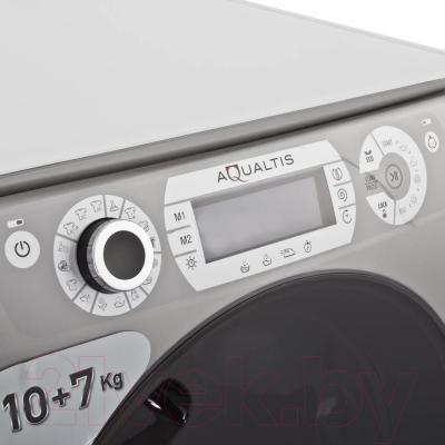 Стирально-сушильная машина Hotpoint-Ariston AQD1070D 49 EU/B - панель управления