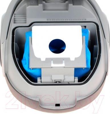 Пылесос Samsung SC5241 / VCC5241S3K/XEV (черный) - фиксация пылесборника