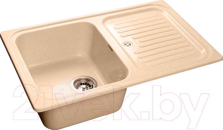 Купить Мойка кухонная GranFest, Standart GF-S780L (бежевый), Россия, искусственный мрамор