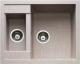 Мойка кухонная GranFest Quadro GF-Q610K (бежевый) -