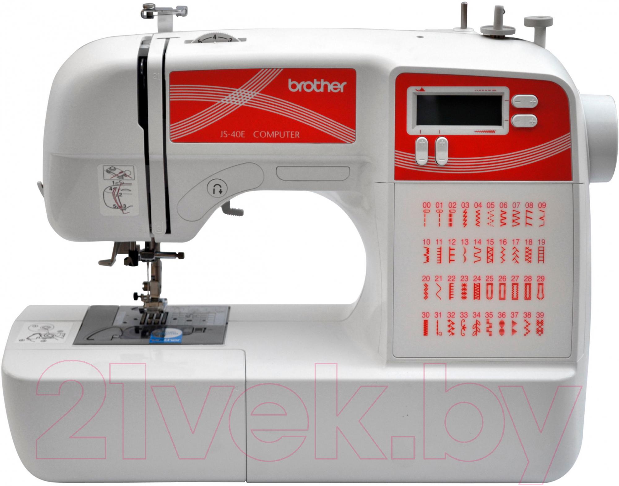 Купить Швейная машина Brother, JS-40E, Китай