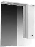 Шкаф с зеркалом для ванной Belux Адажио В80Ш (правый) -