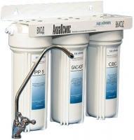Фильтр питьевой воды АкваОсмос АО 3 М PP 5 + GAC-KDF + CBC -
