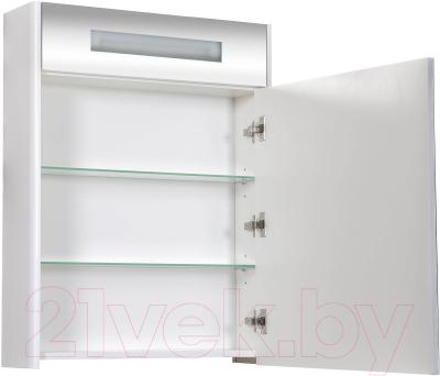 Шкаф с зеркалом для ванной Аква Родос Париж 65 / SC0000148 (с подсветкой)