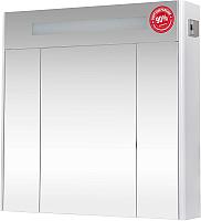 Шкаф с зеркалом для ванной Аква Родос Париж 80 / SC0000149 (с подсветкой) -