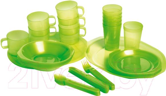 Купить Набор пластиковой посуды Forester, С813, Китай, полипропилен