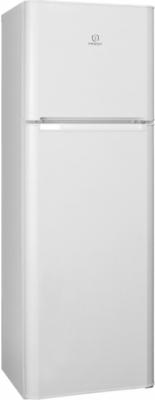Холодильник с морозильником Indesit TIA 16 - Вид спереди