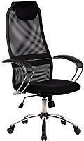 Кресло офисное Metta BK-8CH (черный) -