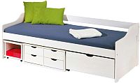 Кровать-тахта Halmar Floro (белый) -