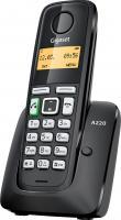 Беспроводной телефон Gigaset A220 (черный) -