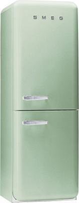 Холодильник с морозильником Smeg FAB32V7 - Вид спереди