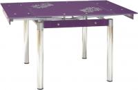 Обеденный стол Signal GD082 (фиолетовый) -