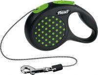 Поводок-рулетка Flexi Design 12164 (ХS, зеленый) -