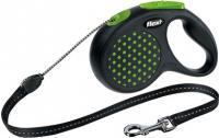 Поводок-рулетка Flexi Design 12184 (M, зеленый) -