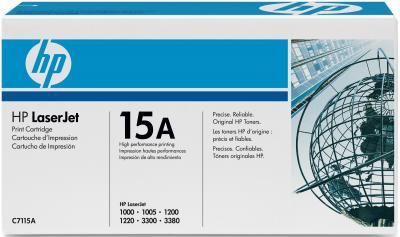 Тонер-картридж HP 15A (C7115A) - общий вид