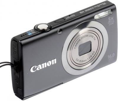 Компактный фотоаппарат Canon PowerShot A2300 Black - общий вид