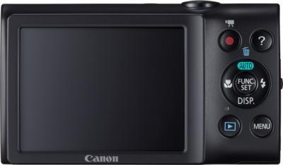 Компактный фотоаппарат Canon PowerShot A2300 Black - вид сзади