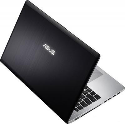 Ноутбук Asus N56VZ-S4044V - Вид сзади