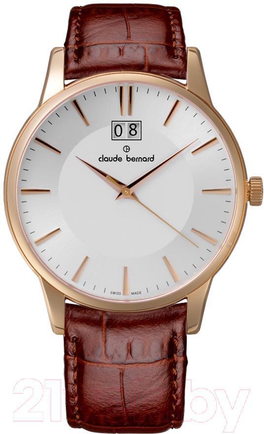 Купить Часы наручные мужские Claude Bernard, 63003-37R-AIR, Швейцария