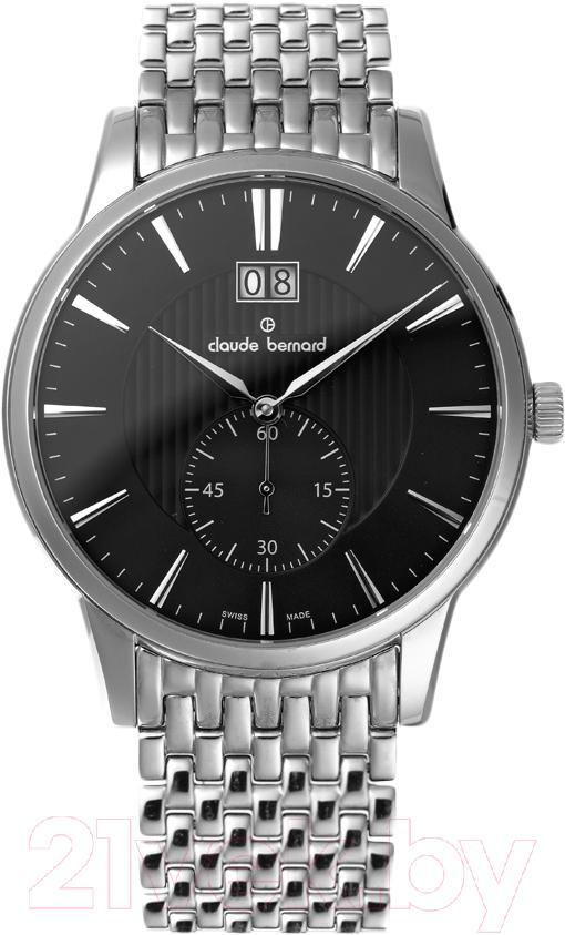 Купить Часы наручные мужские Claude Bernard, 64005-3M-NIN, Швейцария