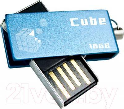 Usb flash накопитель Goodram Cube 16 Гб (PD16GH2GRCUBR9)