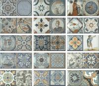 Декоративная плитка Monopole Antique Синий M095A (200x100) -