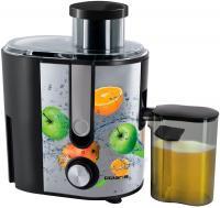 Соковыжималка Polaris PEA 0829 Fruit Fusion (стальной/черный) -