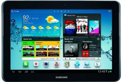 Планшет Samsung Galaxy Tab 2 10.1 16GB 3G Titanium Silver (GT-P5100) - Главная