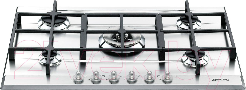 Купить Газовая варочная панель Smeg, P1752X, Италия