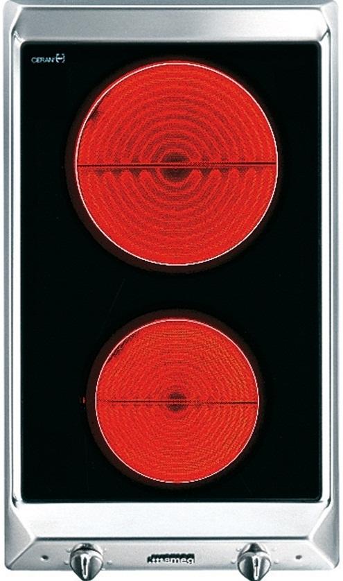 Купить Электрическая варочная панель Smeg, SEH530X1, Италия