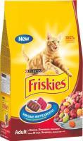 Корм для кошек Friskies С мясом, печенью и овощами (10кг) -