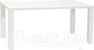 Обеденный стол Halmar Ronald (белый)
