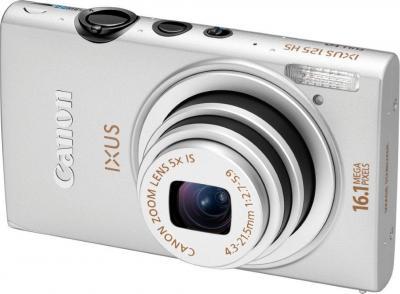 Компактный фотоаппарат Canon IXUS 125 HS Silver - общий вид