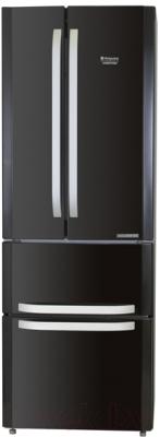 Холодильник с морозильником Hotpoint-Ariston E4DAAB/C