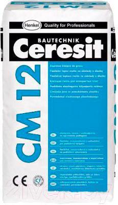 Купить Клей для плитки Ceresit, CM 12 Gres (25кг), Беларусь