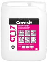 Грунтовка Ceresit CT 17 Supergrunt (10л) -