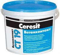 Грунтовка Ceresit CT 19 Бетонконтакт (10л) -
