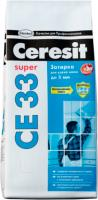 Фуга Ceresit CE 33 (2кг, серый) -