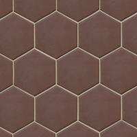 Плитка Equipe Hexatile Marrone Matt P (200x175) -