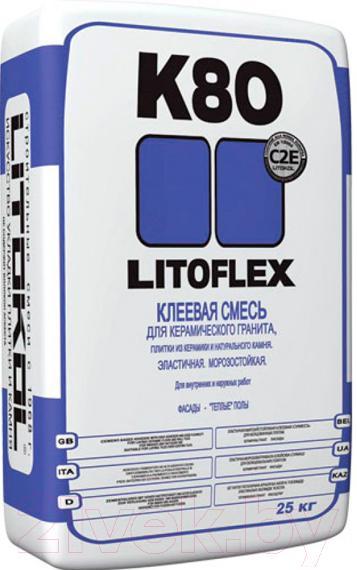 Купить Клей для плитки Litokol, Litoflex K80 (25кг), Россия