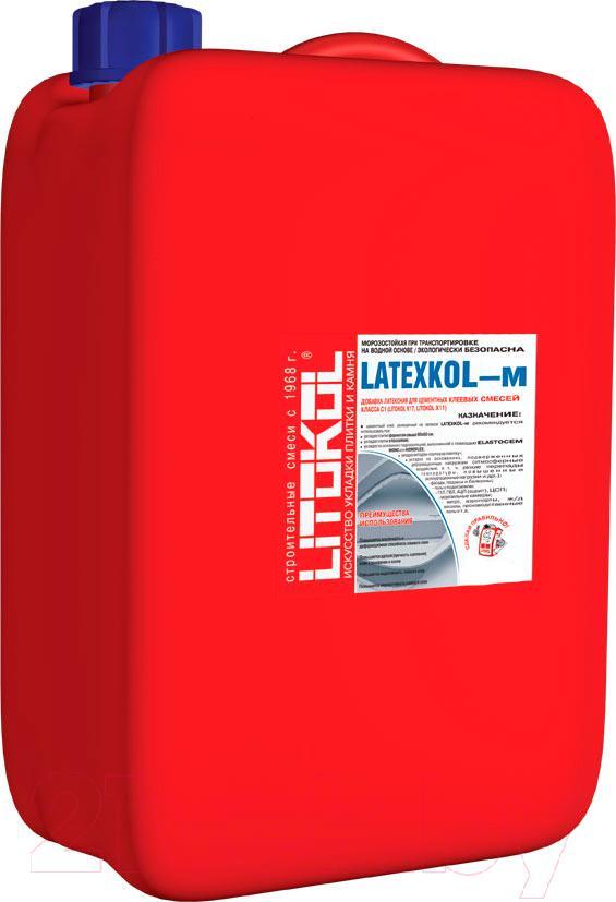 Купить Латексная добавка Litokol, Latexkol-м (3.75кг), Россия, белый