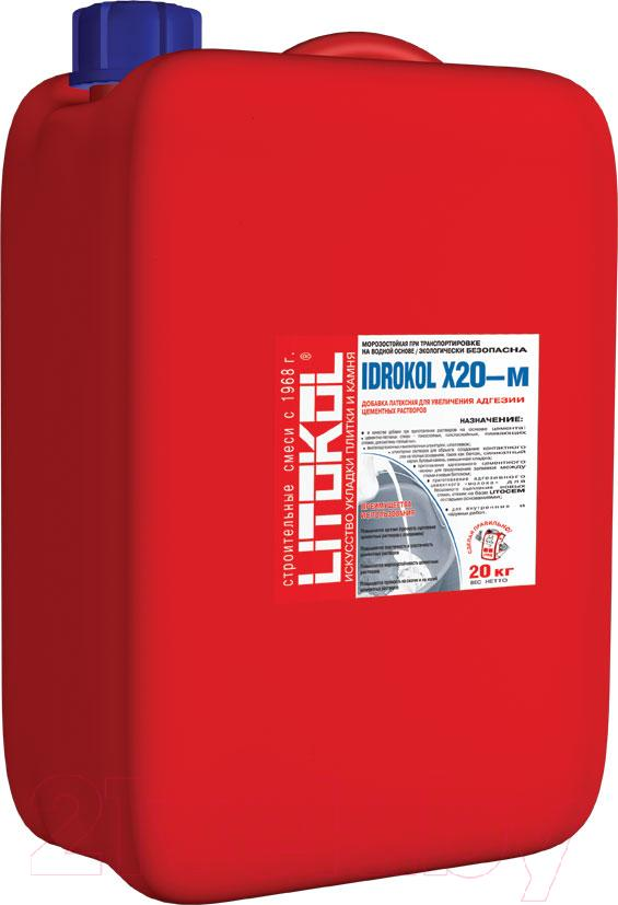 Купить Латексная добавка Litokol, Idrokol X20-м (20кг), Россия, белый