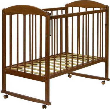 Купить Детская кроватка СКВ, 120117 (орех), Россия, массив дерева
