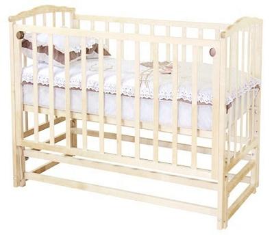 Детская кроватка Красная звезда Кристина С619 (Слоновая кость) - общий вид